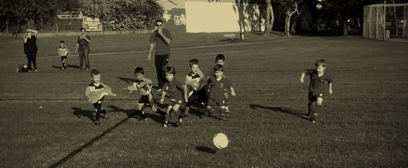 Edward's soccer debut