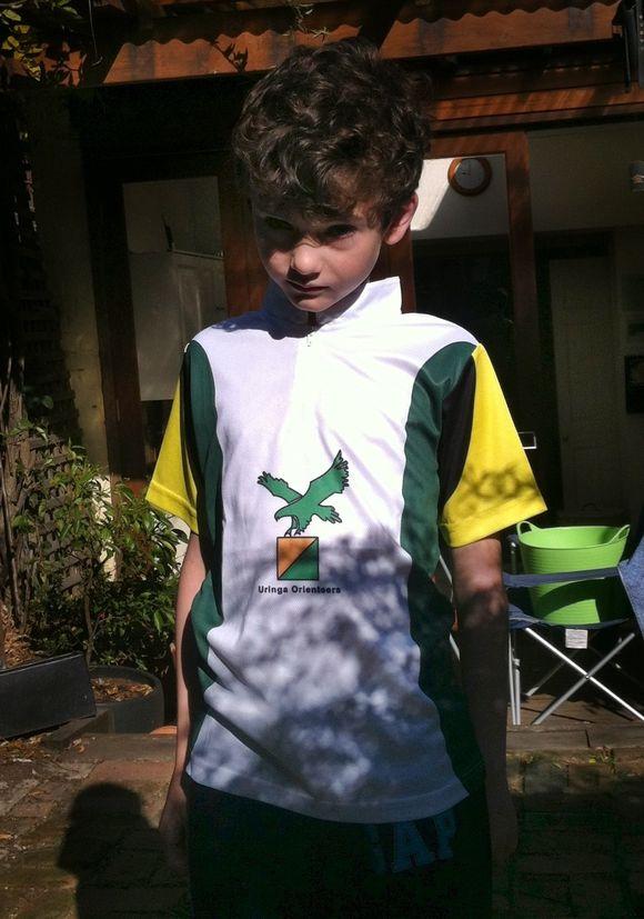 Barnaby has joined Uringa Orienteering Club